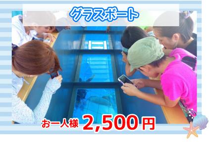 グラスボート2500円