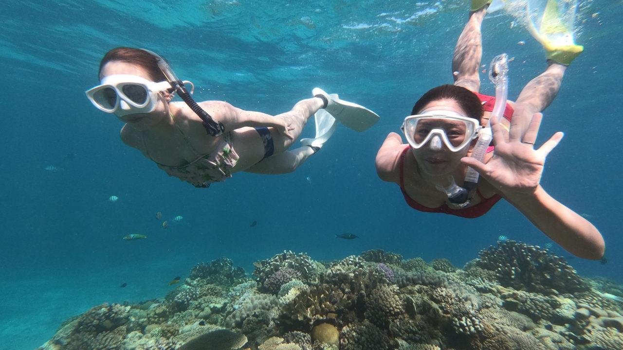 みんな島で素潜りスキンダイビング|水納島や瀬底島マリンスポーツ専門店